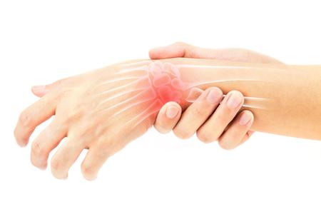 Os du poignet blessures Banque d'images - 74189275