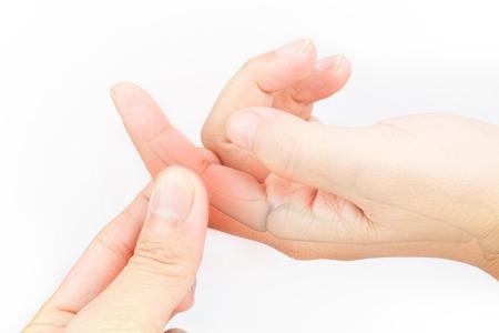 proximal: finger bone pain