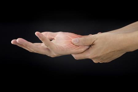 wrist muscle pain