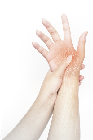 hand muscle pain
