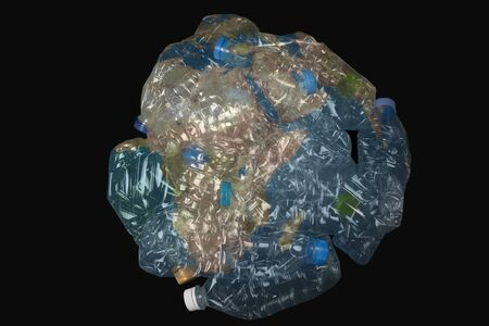 plastic on the world make to global warming