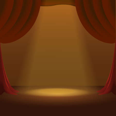 Stage show background vector