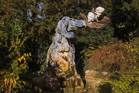 Strange memorial at Strasbourg near the park