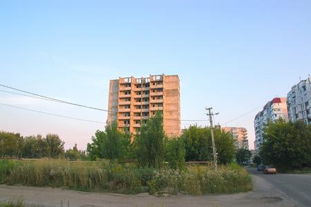 View Ghost Town Pripyat, Chernobyl Exclusion Zone, Ukraine