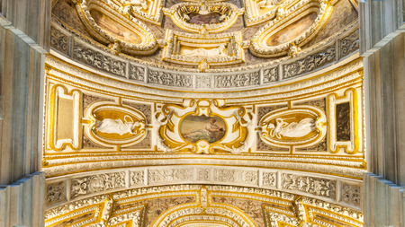 doges: Ceiling of the Palace of the Doges Editorial