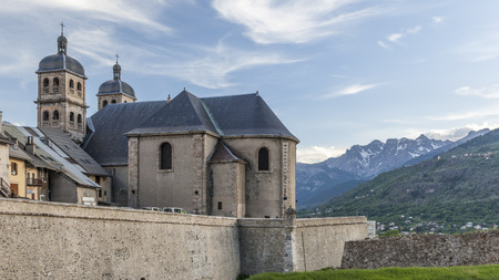 saint nicolas: Church of Our Lady and Saint Nicolas Briancon in France