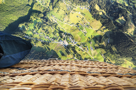 ballooning: View from above in ballooning