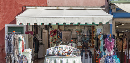 Shop on the island of Burano, venice