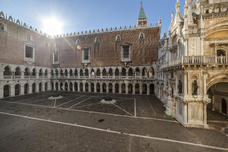 Place in the Doges Palace in Venice