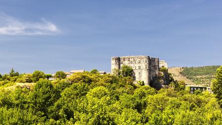 romaine: Castle of Alba la Romaine, France