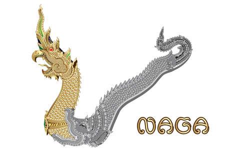 Naga Asian Style, nördlich in Thailand.