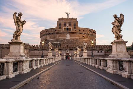 castel: Castel SantAngelo, Rome, Italy