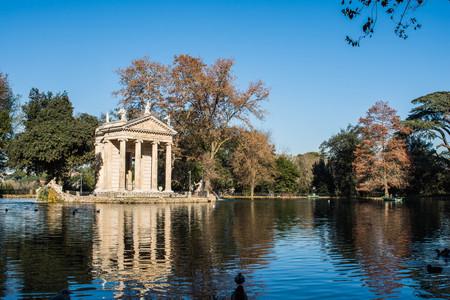 Villa Borghese, Rome, Italy Stock Photo