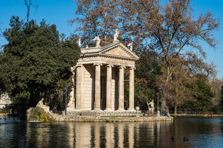 Villa Borghese, Rom, Italien Standard-Bild - 70264349
