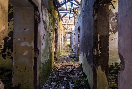 Old concentration camp Le Fraschette, Alatri, Ciociaria, Italy