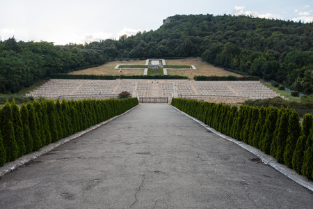 Polnischer Friedhof in Montecassino, Italien Standard-Bild - 84152339
