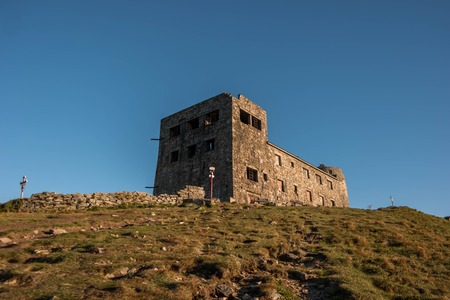 Ruins of astronomical observatory called