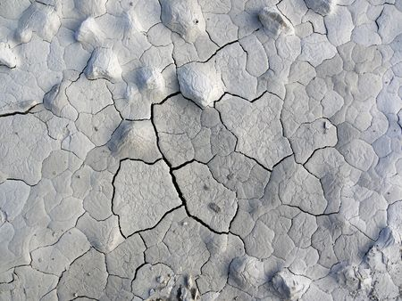 Pattern of Texture of Chappy White clay photo