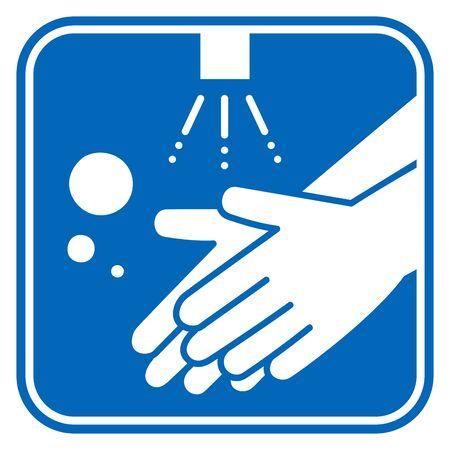 Mycie rąk wektor ilustracja ikona