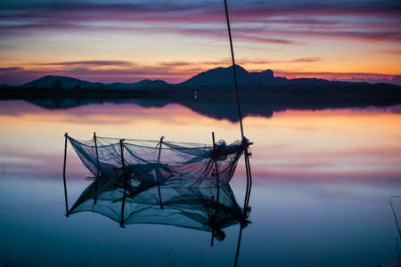 placid water: The lake twilight
