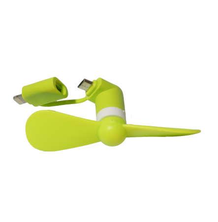 personel: Mini micro USB lightning port fan