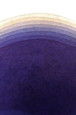 gradation: hand painted abstract gradation with watercolor