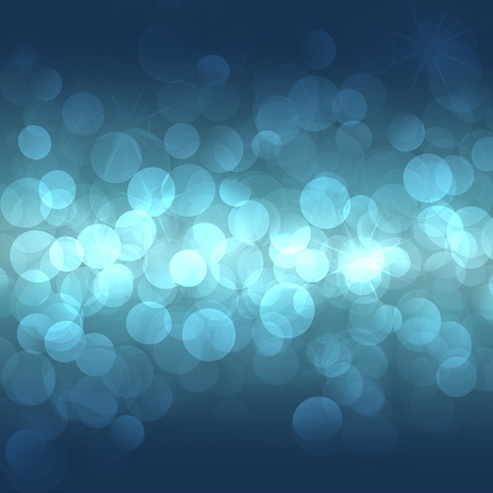 abstract background with blue lights photo