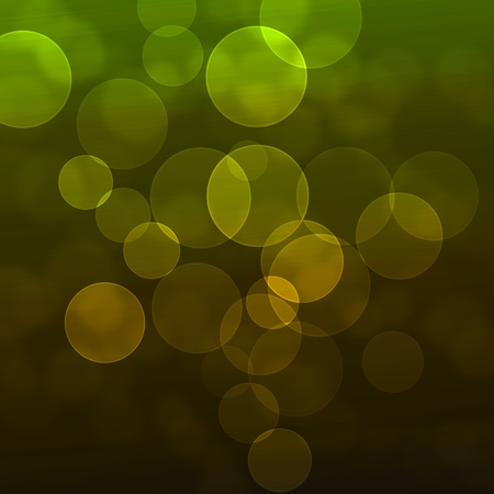 abstract background with green lights photo