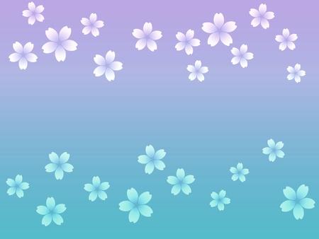 Abstract cherry blossom background illustration illustration