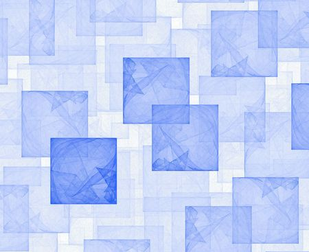 high resolution flame fractal forming a framemultiple cubes Stock Photo - 476724
