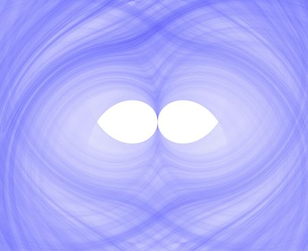 high resolution flame fractal forming a mask with two eye holes Stock Photo - 490766