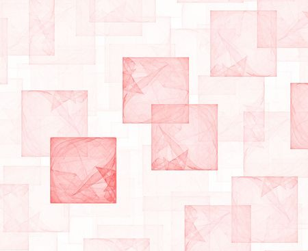 high resolution flame fractal forming a background with multiple cubes Stock Photo - 513854
