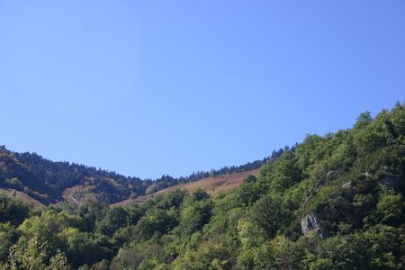 taken in the french Pyrenees, department Pyrenees atlantique, plenty of copy space Stock Photo - 610424