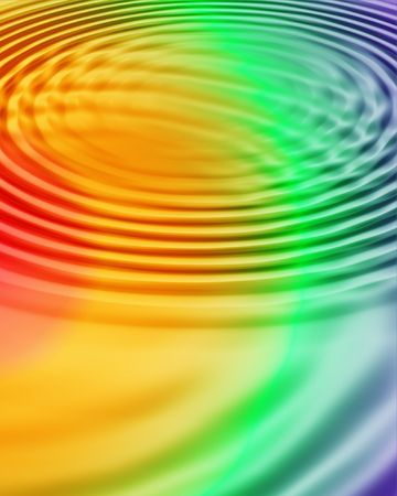 computergraphics: multi colored water ripples background