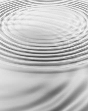 silver background with water ripples photo