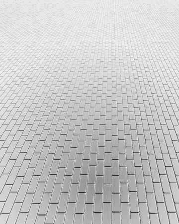 silvery: silvery computer generated floor Stock Photo