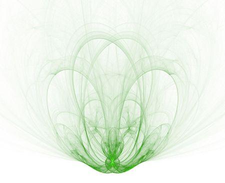 gaia: fountain-like fractal Stock Photo