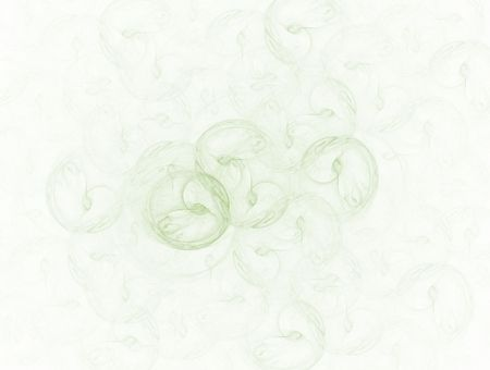 loopy: high res flame fractal in Tarragon  color
