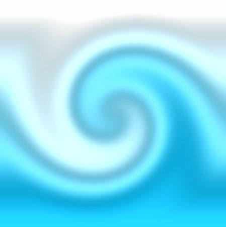 very smooth yin yang wave in bluish tones Stock Photo - 866915