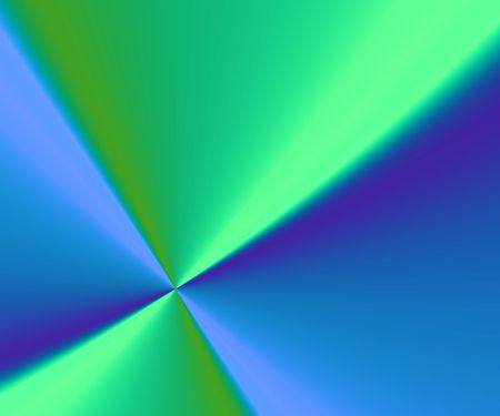 blue and green background with diagonal lines and 3d effect Stock Photo - 931891