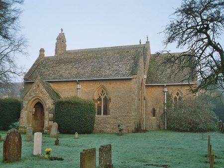 old english country church photo