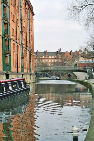 great britain: Nottingham Canal Grande-Bretagne Banque d'images