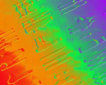 craquelure: Craquelure Background in rainbow colors