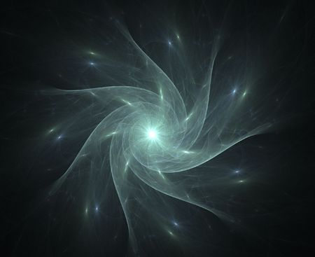 high res flame fractal forming a whirly star Stock Photo - 1319049
