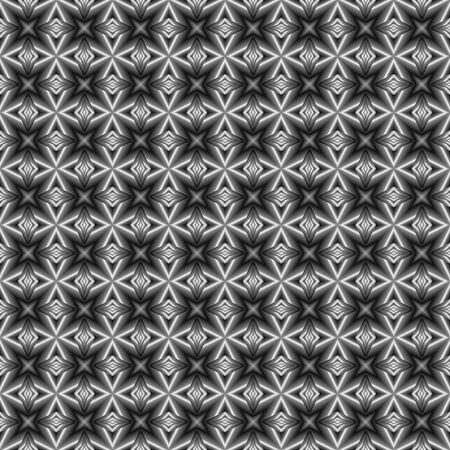 tilable: seamless tilable black and white square background texture with old-fashioned look and high contrast Stock Photo