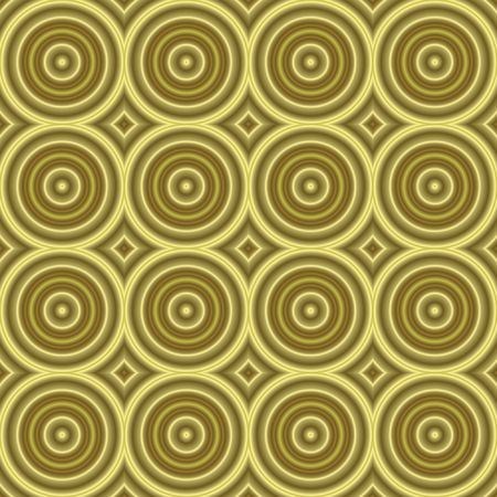 tilable: seamless tilable background texture with old-fashioned or retro look and many circles Stock Photo