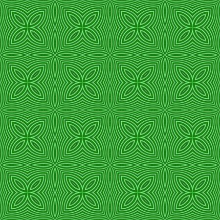 tillable: seamless tillable background texture like clover leaves for St. Patricks day Stock Photo