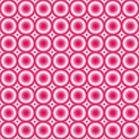 tillable: seamless tillable pink retro background with circles, disco style