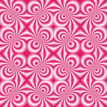 tillable: seamless tillable pink retro background with swirls, disco style