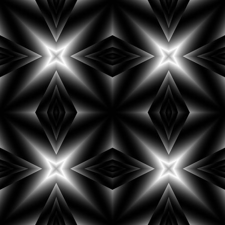 seamless tillable dark silver background texture with lights Stock Photo - 2510468